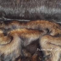 Kožušina umelá - Camel - cena za 10 cm