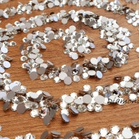Ozdobné kamienky 5 mm - 50 kusov - Crystal