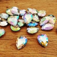 Ozdobné kamienky 13 x 18 mm - AB Crystal