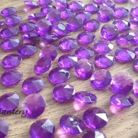 Diamantové konfety - balenie 100 kusov - Fialové
