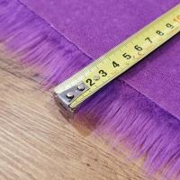 Kožušina umelá - Fialová - cena za 10 cm