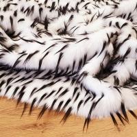 Umelá kožušina - kráľovska biela - cena za 10 cm