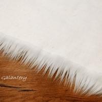 Kožušina umelá - Biela IV - cena za 10 cm