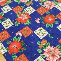 Bavlnená látka - Kvety - cena za 10 cm