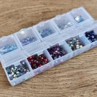 Hot fix 4 mm - krabičkové balenie - 1000 kusov - Mix II