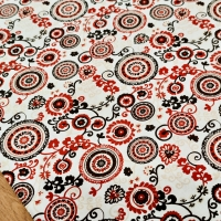 Bavlnená látka - Mandala - cena za 10 centimetrov