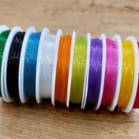 Náramková guma 0,8 - Farebný mix - 70 metrov