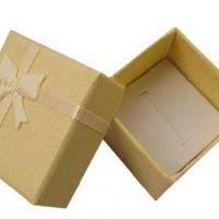 Darčeková krabička bledožltá