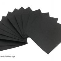 Filc 1 mm - 30 x 30 cm - čierny