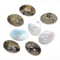 Kamenné perleťové gombíky 17 x 12 mm