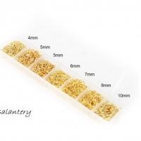 Spojovacie krúžky balenie 1800 ks - zlaté