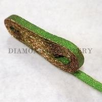 Stuha Dobruška 10 mm - zelená