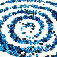Hot fix 4 mm - Capri Blue - 100 kusov