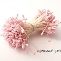 Piestiky 1,5 mm - ružová - 400 kusov