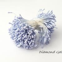 Piestiky 1,5 mm - modré - 400 kusov