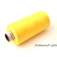 Polyesterová niť Amann - ASPO 120 - žltá
