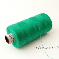 Polyesterová niť Amann - ASPO 120 - zelená