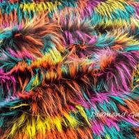 Kožušina umelá - Colours - cena za 10 cm