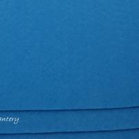 Filc 1 mm - 30 x 30 cm - tmavotyrkysová