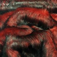 Kožušina umelá - Dračia krv II - cena za 10 cm