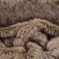 Kožušina umelá - Huňatá melírová kožušina III - cena za 10 cm