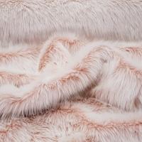 Kožušina umelá - púdrová ružová II - cena za 10 cm