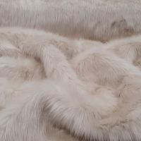 Kožušina umelá - krémová - cena za 10 cm