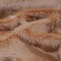 Kožušina umelá - béžová - cena za 10 cm