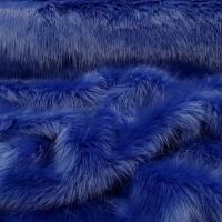 Kožušina umelá - Kráľovská modrá - cena za 10 cm