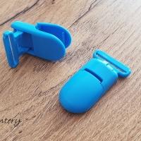 Klip jednofarebný - modrý