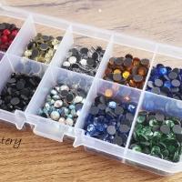 Hot fix 5 mm - krabičkové balenie - 1000 kusov - Mix I