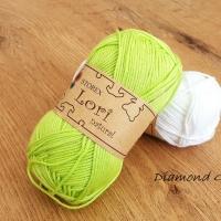 LORI NATURAL - 145 - Jablkovo zelená