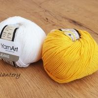 YarnArt - Jeans - 35 Tmavožltá