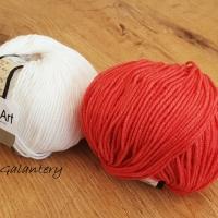 YarnArt - Jeans - 26 Červená