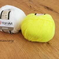 YarnArt - Jeans - 58 NeónovoŽltá