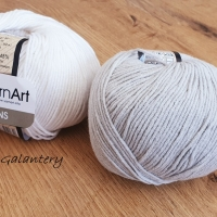 YarnArt - Jeans - 49 Svetlosivá