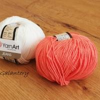 YarnArt - Jeans - 61 Oranžová
