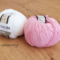 YarnArt - Jeans - 36 Ružová