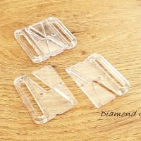 Plavkové zapínanie plastové - 37 x 36 mm - priestivtné