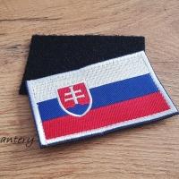 Nášivka na suchý zips - Slovensko