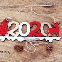 Aplikácia závesná - 2020 - 85 x 175 mm