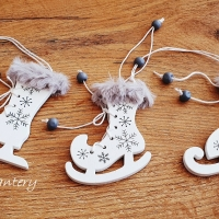 Vianočný výlisok Korčule - 3 Kusy