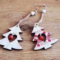 Vianočný výlisok s Rolničkou - Stromček