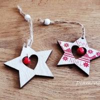 Vianočný výlisok s Rolničkou - Hviezdička