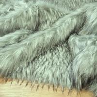 Kožušina huňatá - Šedý vlk TOP - cena za 10 cm