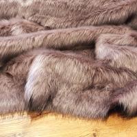 Kožušina umelá - starofialová - cena za 10 cm