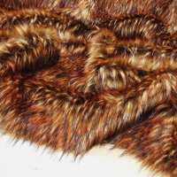 Kožušina umelá - Ohnivý melír TOP - cena za 10 cm