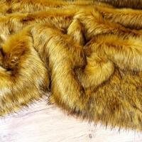 Kožušina umelá - Zlatý Med - cena za 10 cm