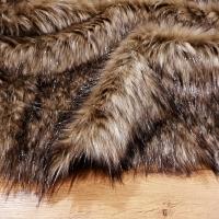 Luxusná umelá kožušina - Silver Bear - cena za 10 cm