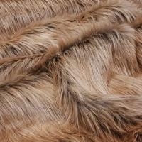Luxusná umelá kožušina - RoseGold Unicorn - cena za 10 cm
